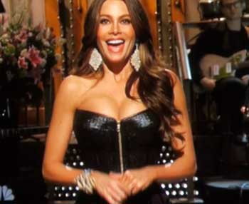 Sofia Vergara gets big laughs on SNL, will we ever see her nude?